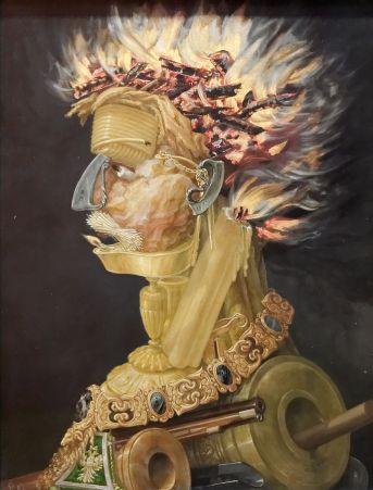 Arcimboldo - Il Fuoco, Kunsthistorisches Museum - Austria