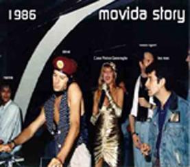 Steve, Leo, Vasco, Pinina Garavaglia al Movida