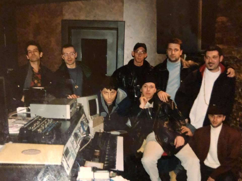DJs at work